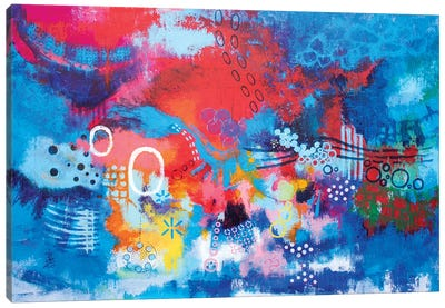 Deep Down Inside Canvas Art Print