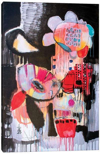 Night Bloomers Canvas Art Print