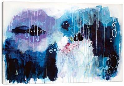 Blue Affection Canvas Art Print