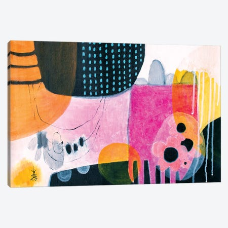 At The End Of The Day Canvas Print #MSK76} by Misako Chida Canvas Art