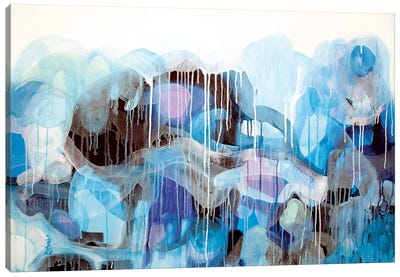 Blue, Blue Canvas Art Print