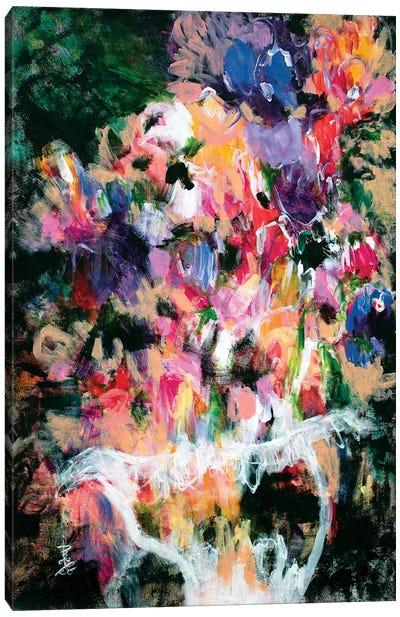 Chic Flowers Canvas Art Print