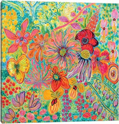 Fragrant Garden I Canvas Art Print