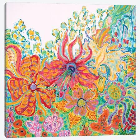 Fragrant Garden II Canvas Print #MSK95} by Misako Chida Canvas Artwork