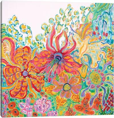Fragrant Garden II Canvas Art Print