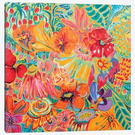 Fragrant Garden III Canvas Print #MSK96} by Misako Chida Canvas Artwork