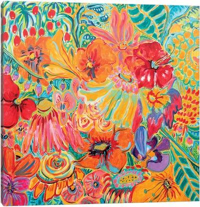 Fragrant Garden III Canvas Art Print