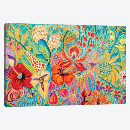 Fragrant Garden V Canvas Print #MSK98} by Misako Chida Art Print