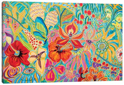 Fragrant Garden V Canvas Art Print