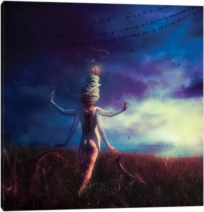 Scarecrow Canvas Art Print