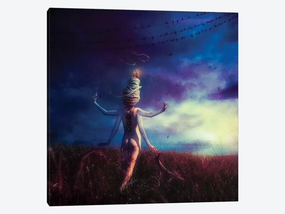 Scarecrow by Mario Sanchez Nevado 1-piece Canvas Wall Art