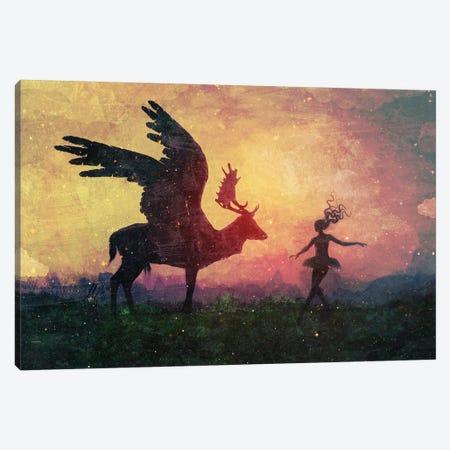 The Dancers Canvas Print #MSN102} by Mario Sanchez Nevado Canvas Art Print