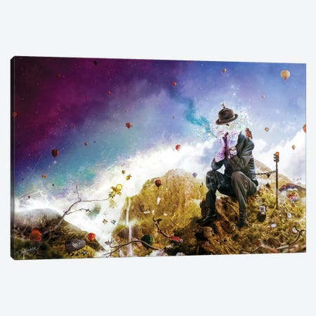 The Uninspired Canvas Print #MSN104} by Mario Sanchez Nevado Canvas Wall Art