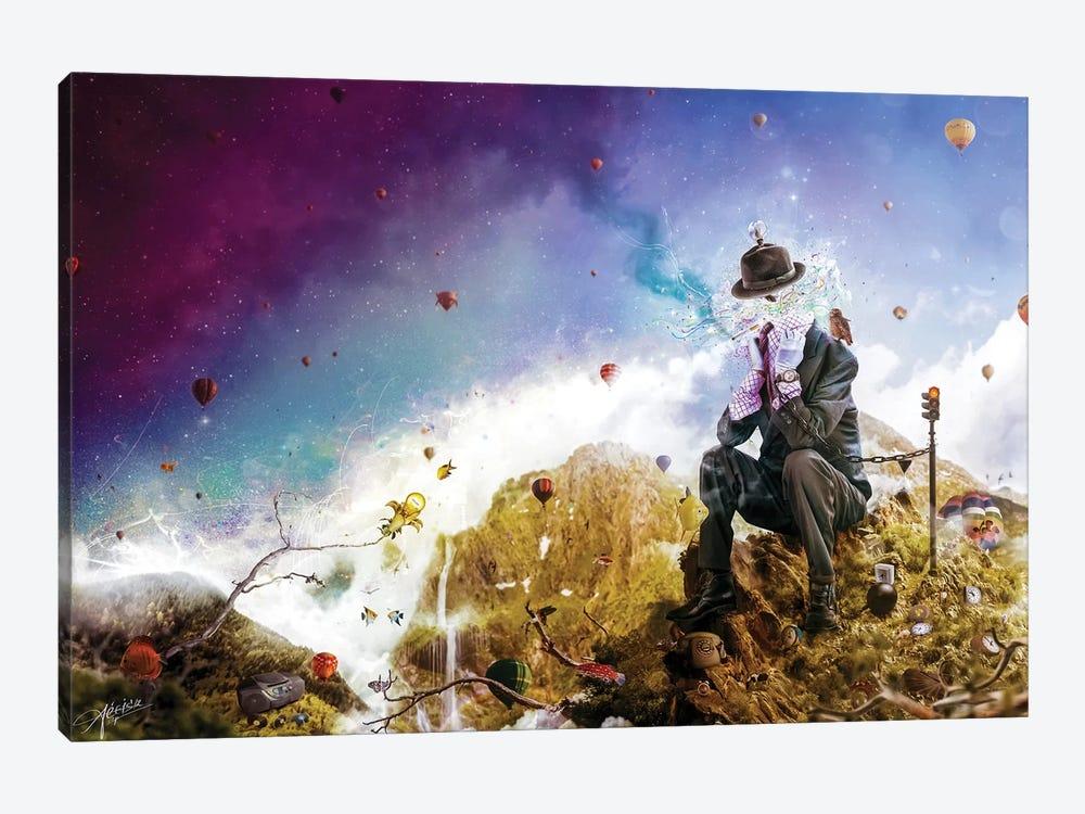 The Uninspired by Mario Sanchez Nevado 1-piece Canvas Art