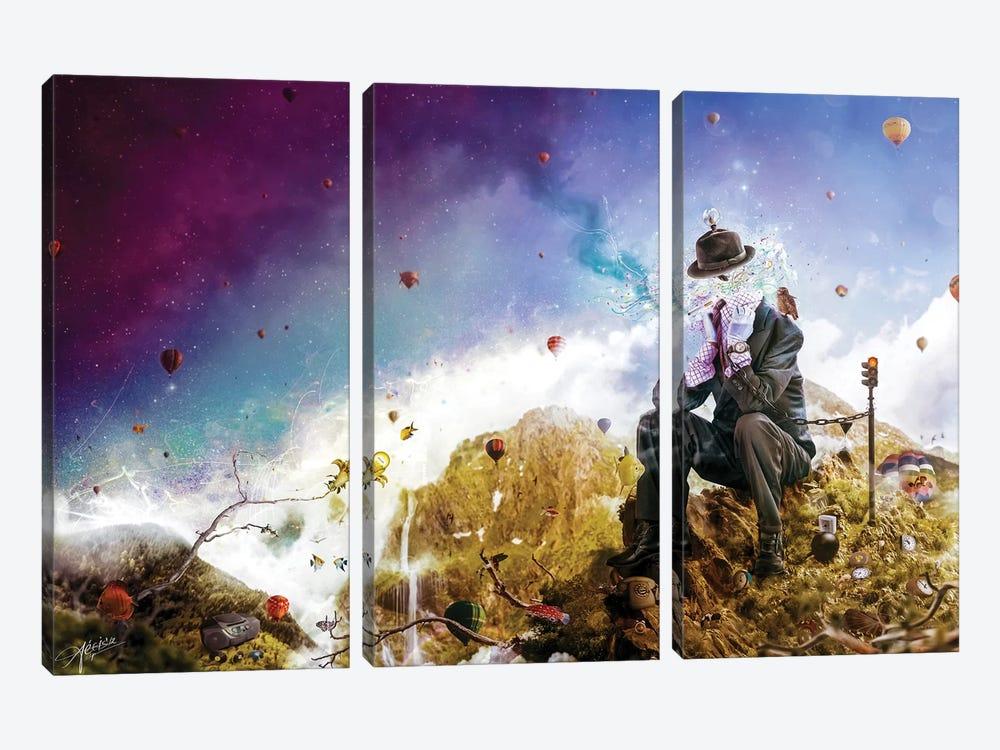 The Uninspired by Mario Sanchez Nevado 3-piece Canvas Art