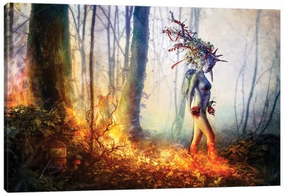 Trust In Me Canvas Art Print