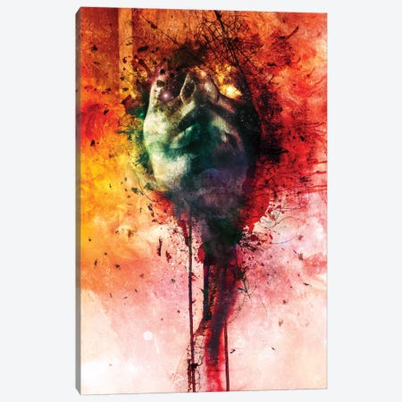 W.O.U.N.D.S Canvas Print #MSN106} by Mario Sanchez Nevado Canvas Artwork