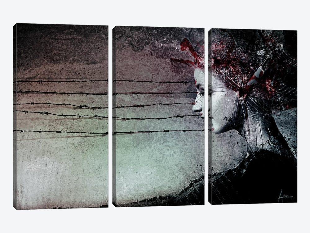 You Promised Me A Symphony by Mario Sanchez Nevado 3-piece Canvas Art Print