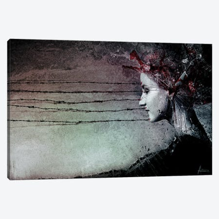 You Promised Me A Symphony Canvas Print #MSN107} by Mario Sanchez Nevado Canvas Artwork
