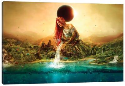 Fountain Of Eternity Canvas Art Print