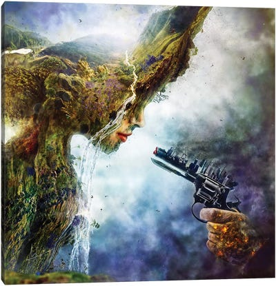 Betrayal Canvas Art Print