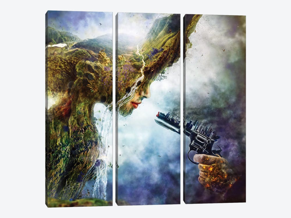Betrayal by Mario Sanchez Nevado 3-piece Canvas Artwork
