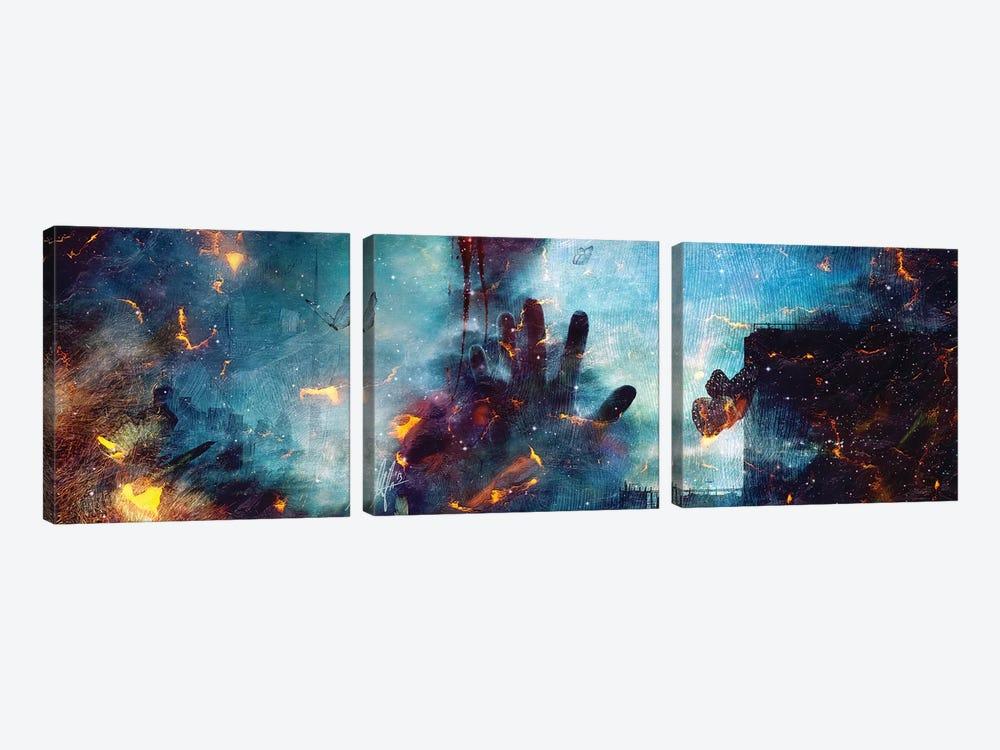 Between Life And Death by Mario Sanchez Nevado 3-piece Canvas Art Print