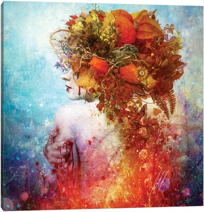 Compassion Canvas Print #MSN21