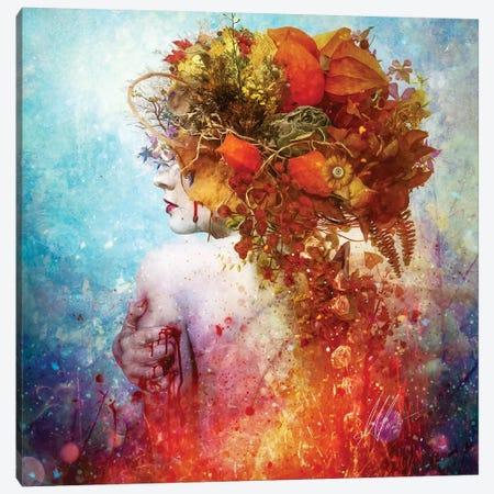 Compassion Canvas Print #MSN21} by Mario Sanchez Nevado Art Print