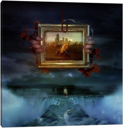 Dangerous Dreams Canvas Print #MSN24