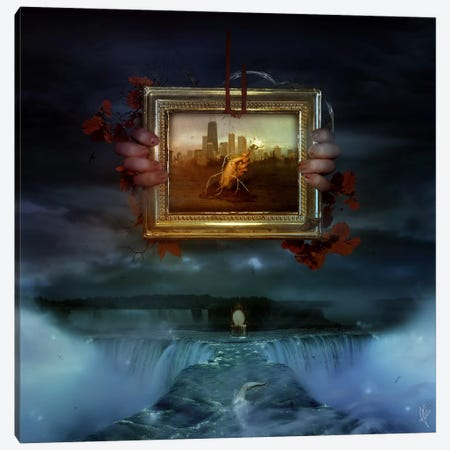 Dangerous Dreams Canvas Print #MSN24} by Mario Sanchez Nevado Canvas Artwork