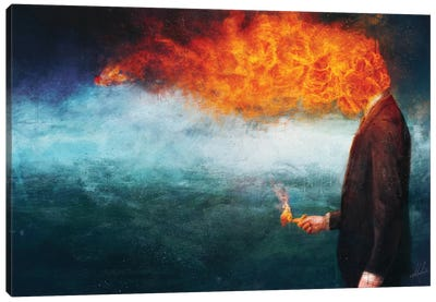 Deep Canvas Art Print