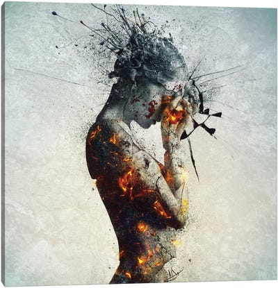 Deliberation Canvas Art Print