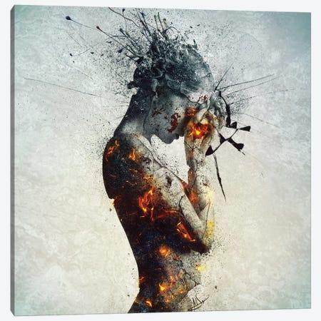 Deliberation Canvas Print #MSN27} by Mario Sanchez Nevado Canvas Wall Art