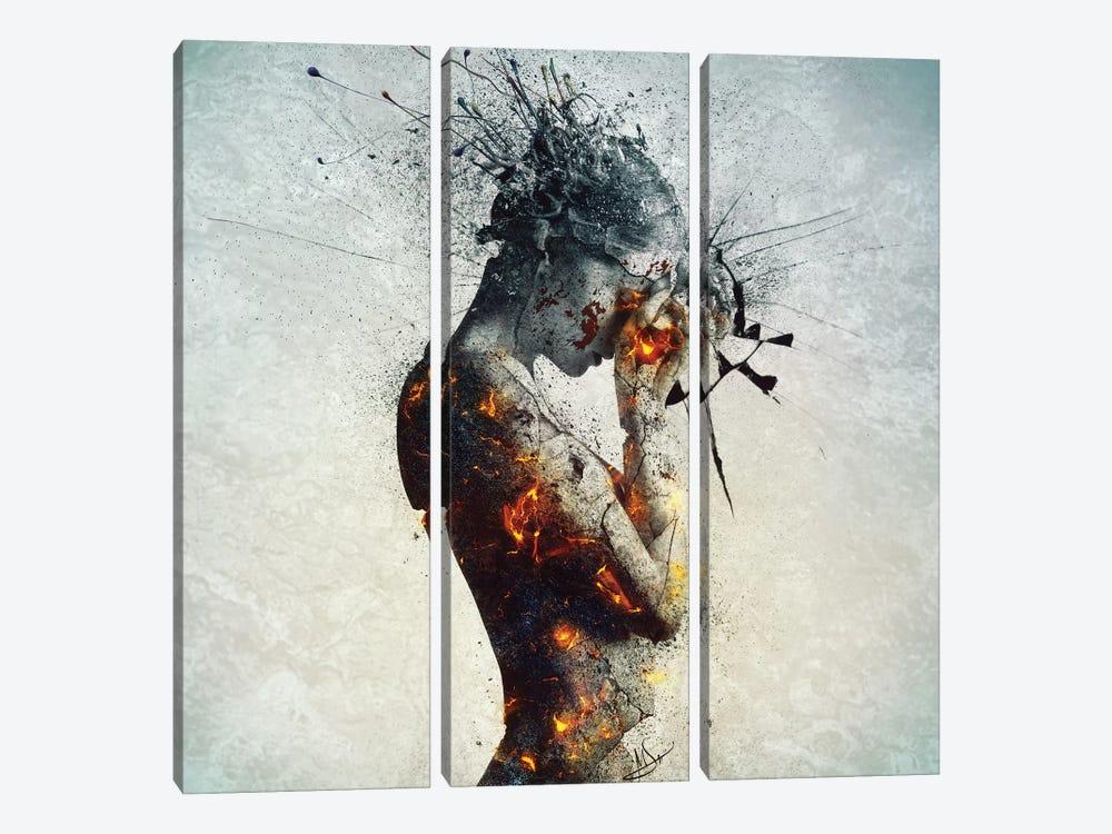 Deliberation by Mario Sanchez Nevado 3-piece Art Print