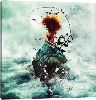 Delirium Canvas Art Print