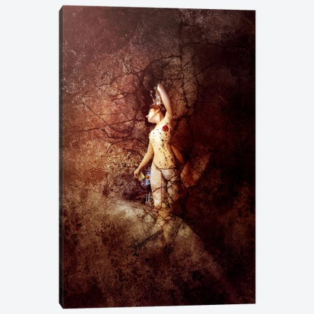 Exit Mould Canvas Print #MSN38} by Mario Sanchez Nevado Canvas Art