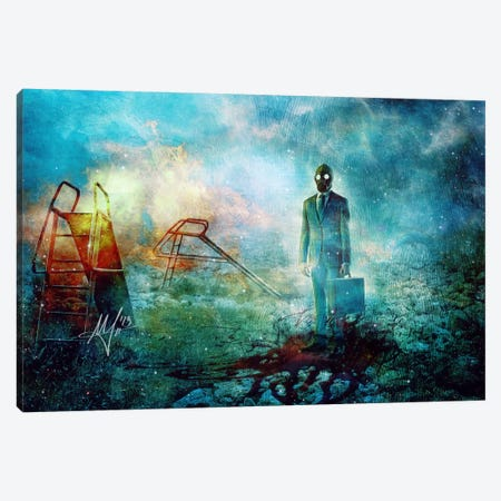 Grief Canvas Print #MSN42} by Mario Sanchez Nevado Art Print