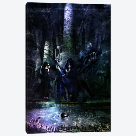 Hades Canvas Print #MSN43} by Mario Sanchez Nevado Canvas Print