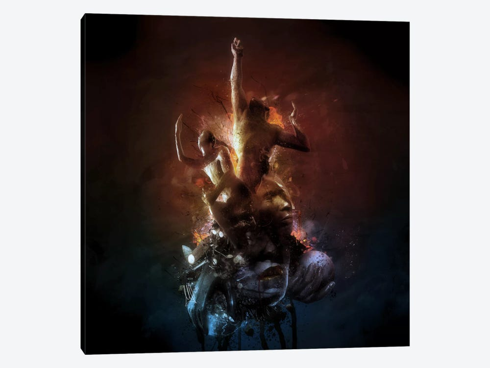 Hell Are The Others by Mario Sanchez Nevado 1-piece Canvas Art Print