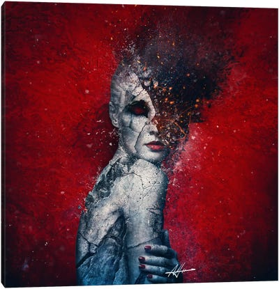 Indifference Canvas Art Print