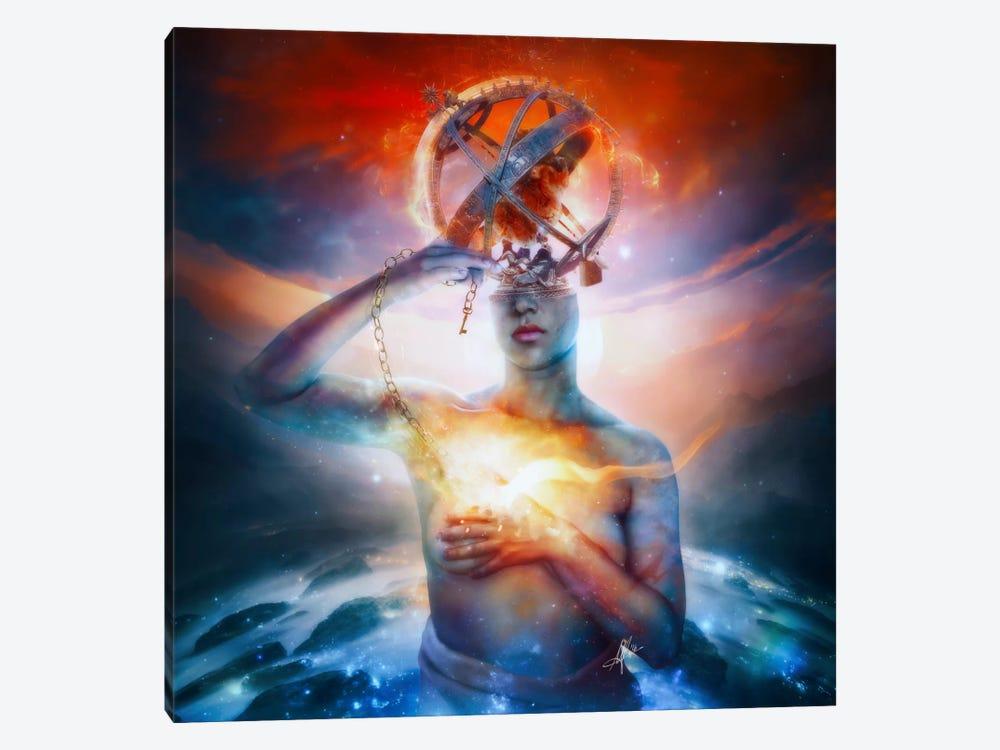 Invisible by Mario Sanchez Nevado 1-piece Canvas Wall Art