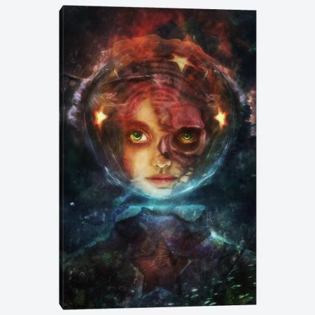 Labyrinth Canvas Print #MSN58} by Mario Sanchez Nevado Canvas Art