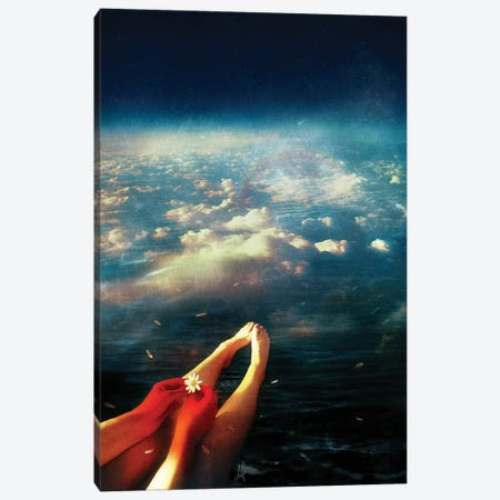 Again Canvas Print #MSN5} by Mario Sanchez Nevado Canvas Art