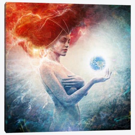 Living Frequencies Canvas Print #MSN60} by Mario Sanchez Nevado Art Print