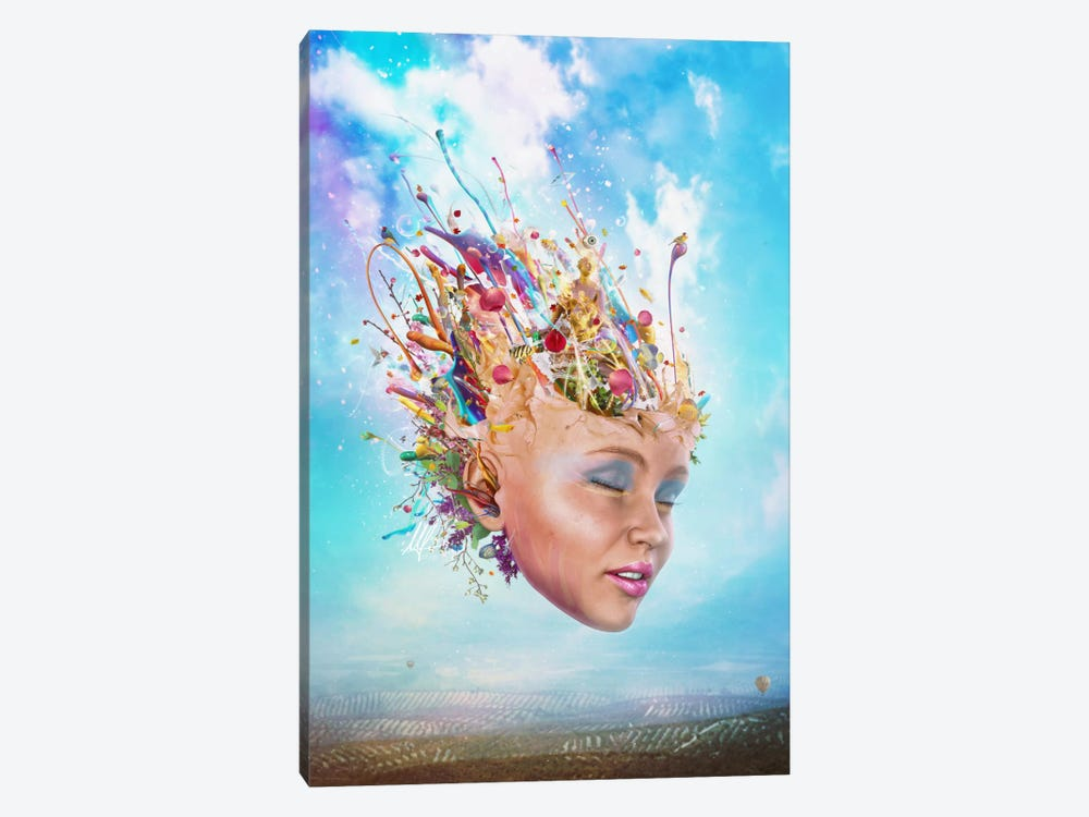 Muse by Mario Sanchez Nevado 1-piece Canvas Art