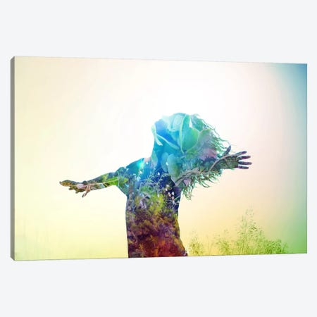 Release Canvas Print #MSN68} by Mario Sanchez Nevado Art Print
