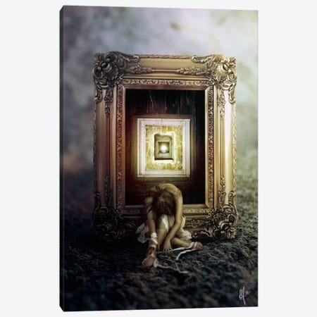 Shrink Canvas Print #MSN74} by Mario Sanchez Nevado Canvas Print