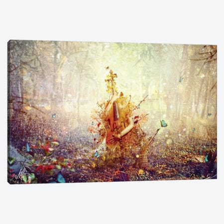 Silence Canvas Print #MSN75} by Mario Sanchez Nevado Canvas Print