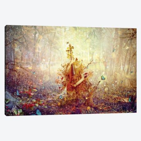 Silence Canvas Print #MSN75} by Mario Sanchez Nevado Canvas Print